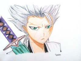 toshiro quick draw by harutoyuzuha