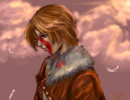 Squall Leonhart by AstuteObservations