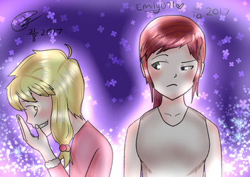 COLLAB: Whats with her? by Emily071