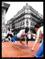 Hip Hop Skipping Rope by EtyenH