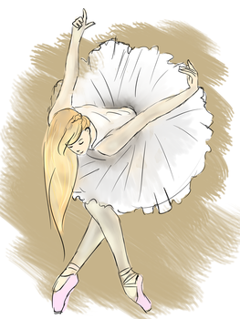 Another dancer by M-l-imagienne