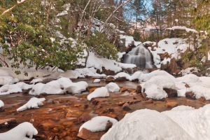 Hawk Falls Winter Stream by somadjinn