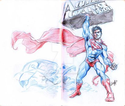 Action comics 1000 - back to basics by mistermoster