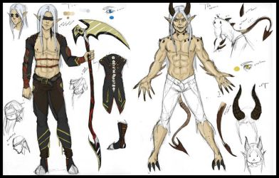 Cursed Character Profile - Cronos by Khadrimx