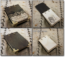 Shabby Notepad by SpankTB