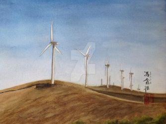 Wind power by drawing425