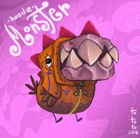 Hoodie Monster by TOTOPO