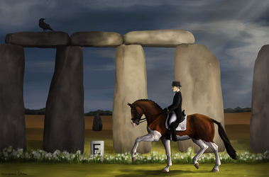 Change is in the Air | Stonehenge Dressage Event by Anonymous-Shrew