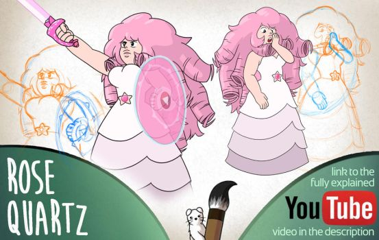 Rose Quartz - Mink's Tutorials by Minks-Art