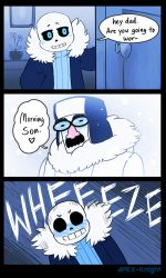 Funny Blizzard Dad by APEX-Knight