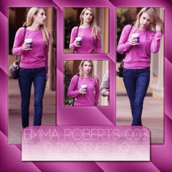 Photopack 1506: Emma Roberts by PerfectPhotopacksHQ