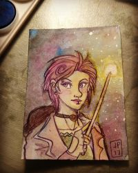 Nymphadora Tonks - ATC by FrozenDreamer
