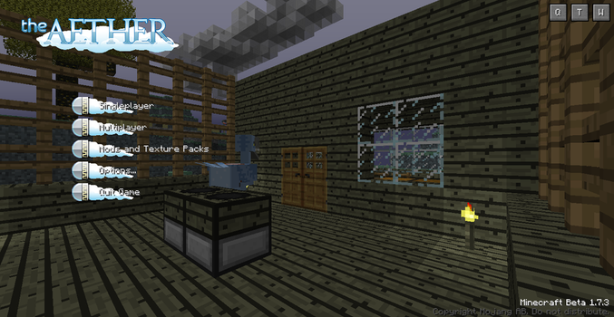 Minecraft Aether Mod by Jaricko