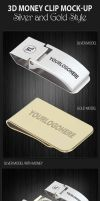 3D Money Clip Mock-up by idesignstudio