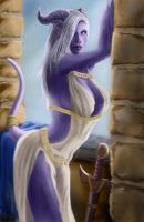 Warcraft Draenei by Hunter7j