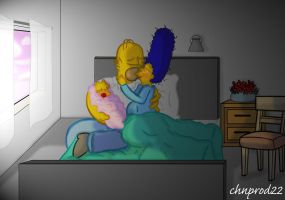 She`s Staying A Simpson by ChnProd22