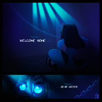 'Welcome Home' - Teaser art by ScribbleNetty