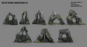 DAY 317. Sidhe - Stones 03 by Cryptid-Creations