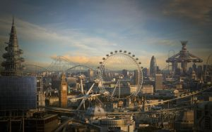 London by painlessheart