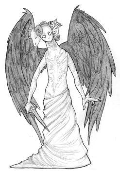 castiel's ~*true form*~ by Embryno