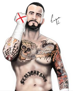 CM Punk by GraficBorges