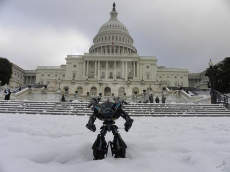 Where's Ironhide: US Capitol 7 by Letohatchee