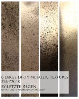 dirty metallic textures by letzte-Regen