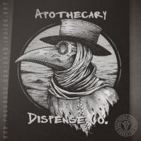 Another Plague Doctor by DeadInsideGraphics