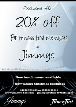 JImmys Fitness First by Cypher7523