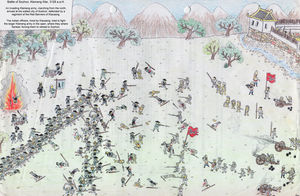 Battle of Sozhon, Kleineng War by Shabazik