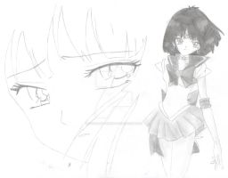 Sailor Saturn by CookieDoughx3