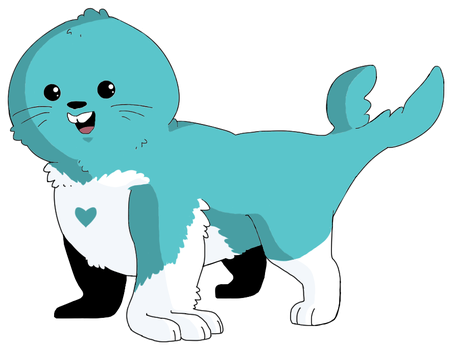 Sealeg (Turquoise Heart) by jessica-doessing