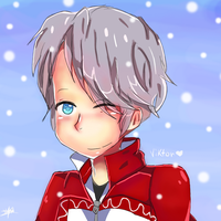 Yuri!!! On Ice (Fanart)- Viktor! by Random-Rengeki