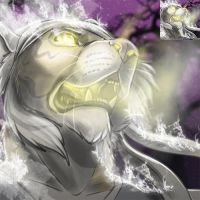 SpaceWolfe- Ghostly Icon by Ifus