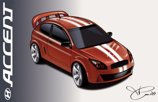 Hyundai Accent SR- revisited 2 by TAoVEZ