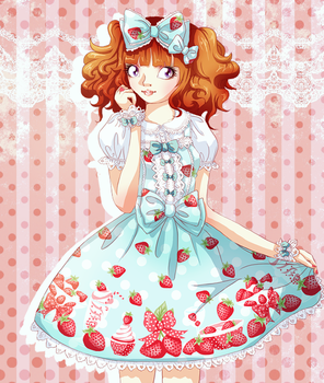 milky berry by lanini