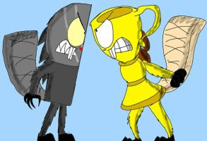 Angry Beavers Inanimate Insanity  by LoudandProudFanGirl