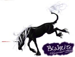 Blaklite unlined by Deathcomes4u