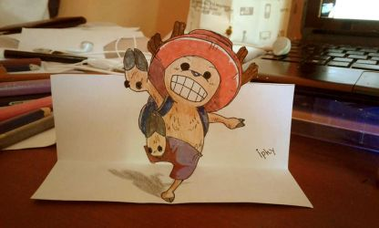 Chopper 3D Drawing by Iphy-Alzelvin