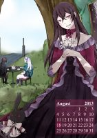 PandoraHearts 2013 - AUGUST by flivine