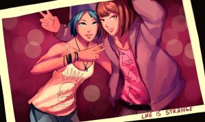 Chloe and Max by sketcheren