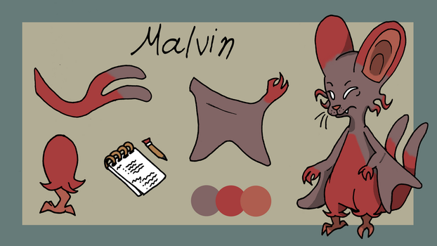 Malvin by MissFluffyKitty
