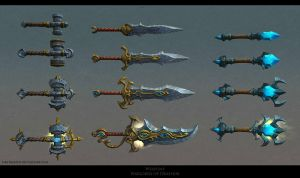 Crafted Weapons by FirstKeeper