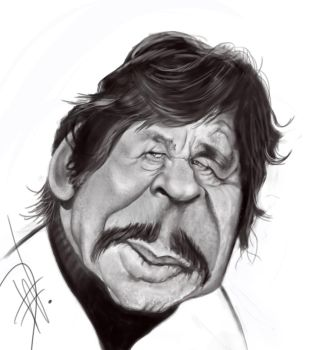 Charles Bronson Caricature by du-har