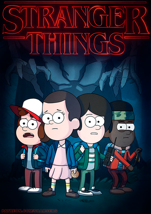 Stranger Things |Gravity Falls style| by shamserg