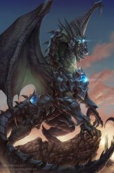 The Dragon Knight - Timaeus by Chaos-Draco