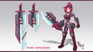 Riven SkinIdea by LataeDelan