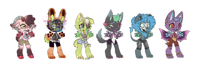 Stress Adopts (CLOSED) by FlyingLimes