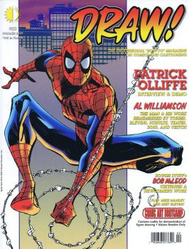 Draw magazine Spidey cover by PatrickOlliffe