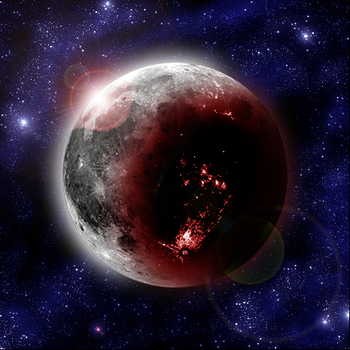 Blood moon by Plevel